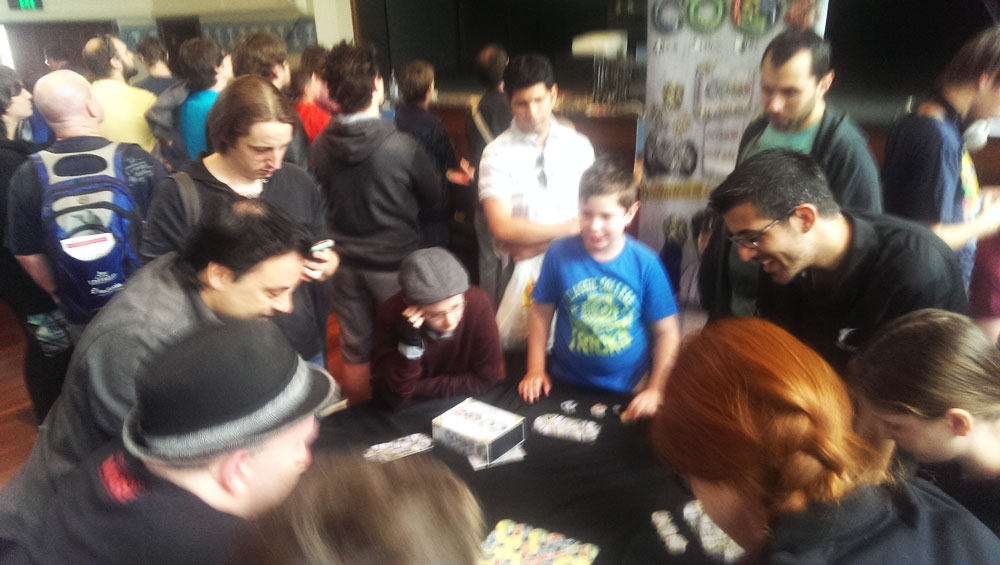 Crowd at the Perth Games Festival